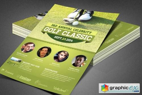 Celebrity Golf Classic Flyer