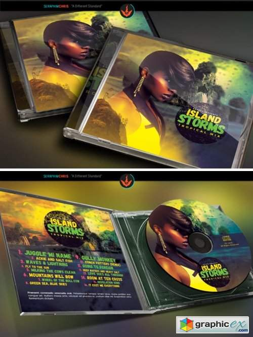 Tropical Island CD Artwork