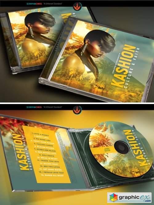 Tropical CD Artwork Template
