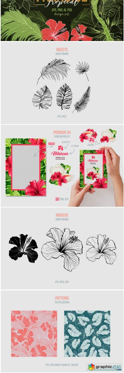 Tropical Paradise - Design Set