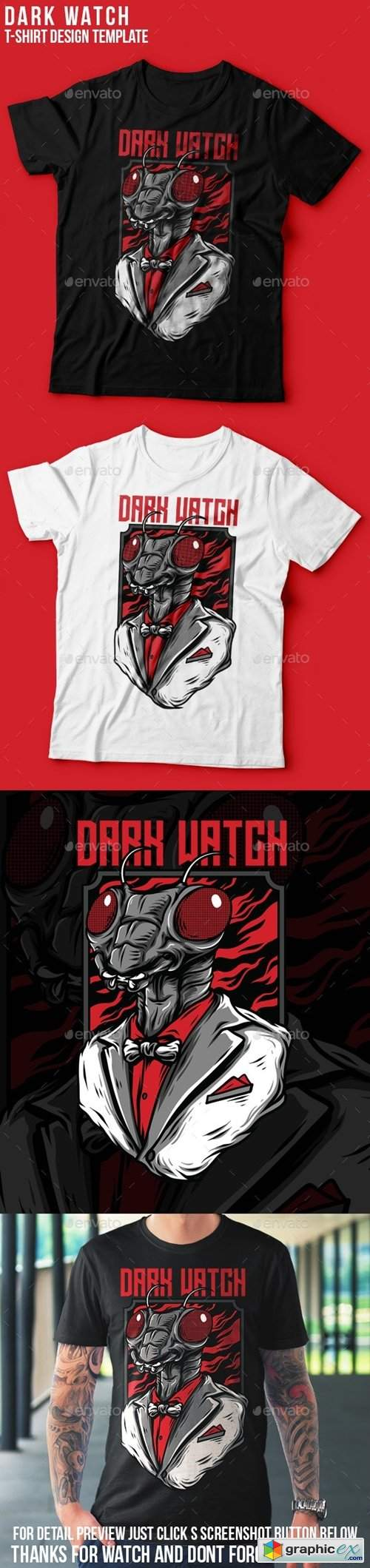 Dark Watch T-Shirt Design