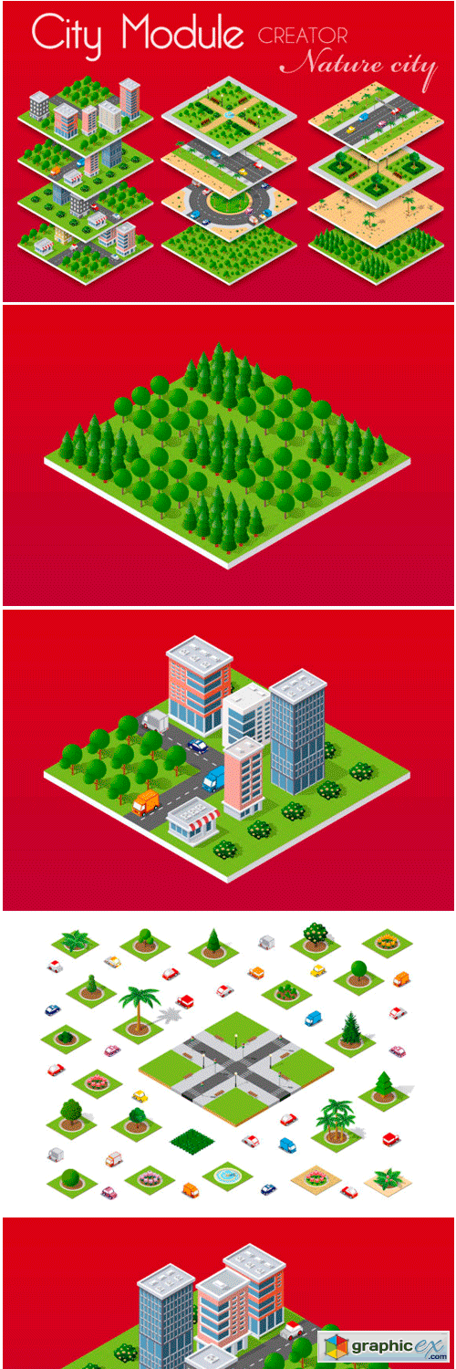 City Module Creator Nature City