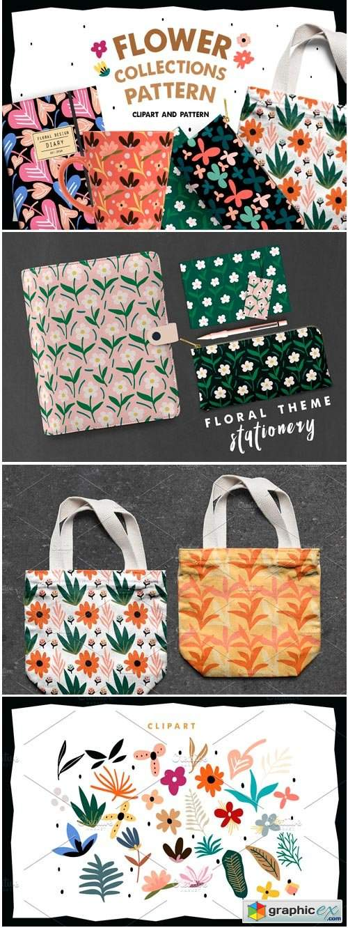 Flower Collections Pattern