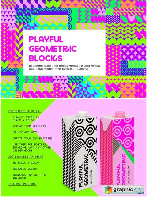 Playful Geometric Blocks