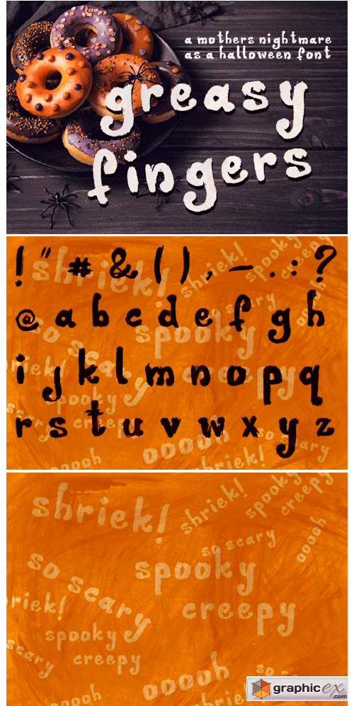 Greasy Fingers Font