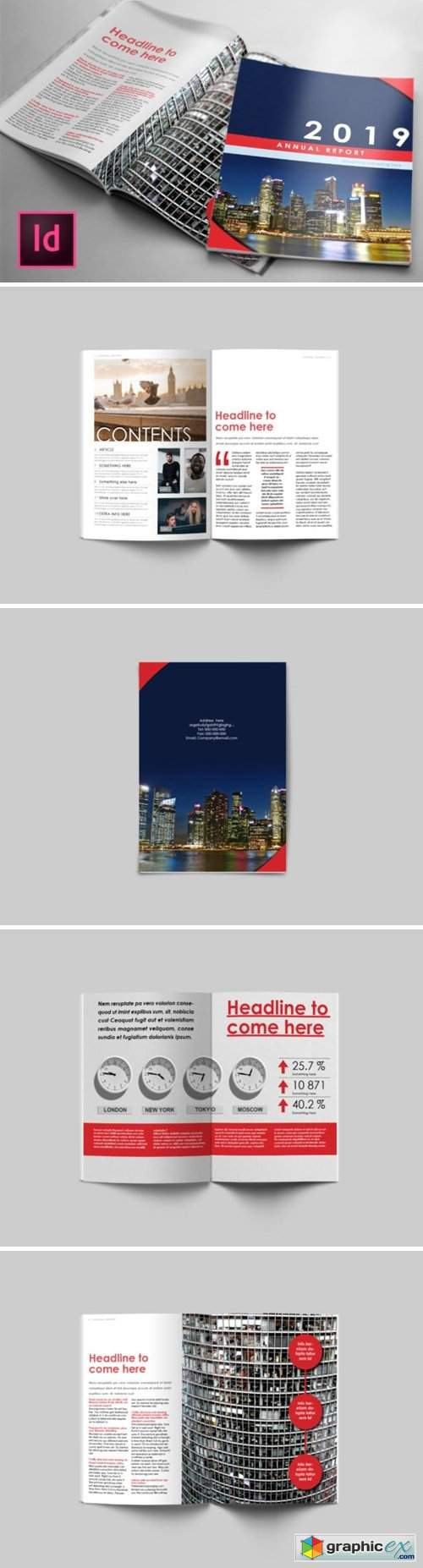 Business Annual Report Template 1594880