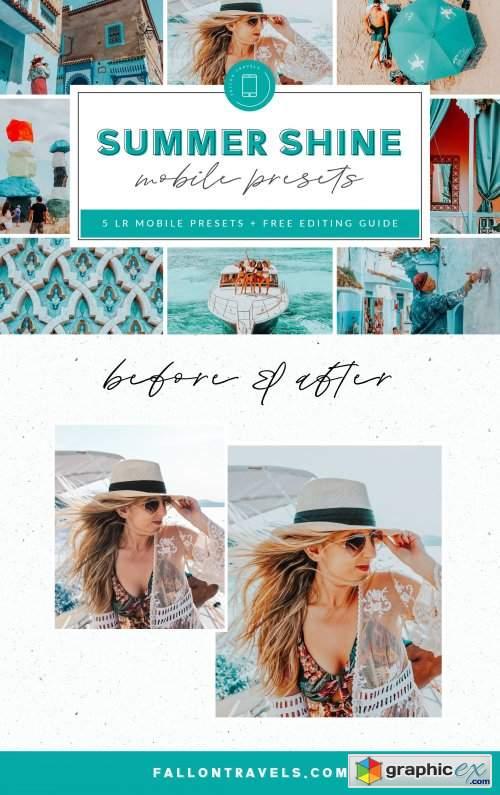 Summer Lightroom Mobile Presets 3890116 » Free Download Vector Stock
