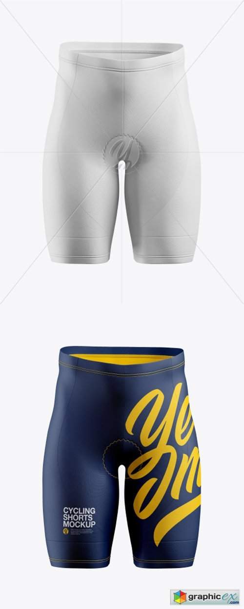 Cycling Shorts Mockup