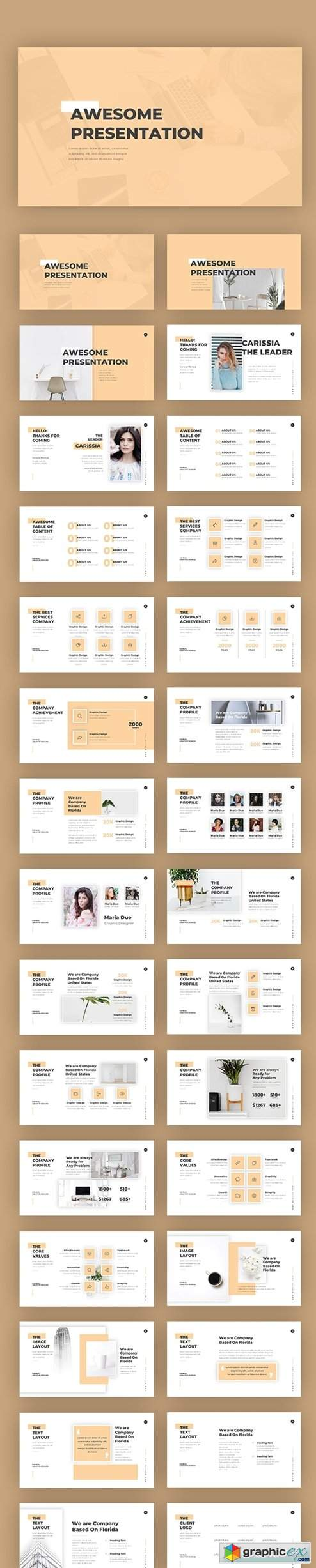 Awesome Pitch Deck Templates