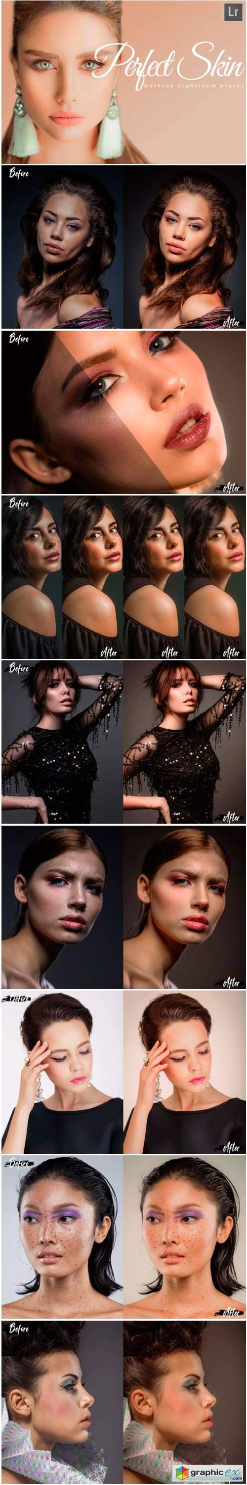 18 Perfect Skin Desktop Lightroom Preset