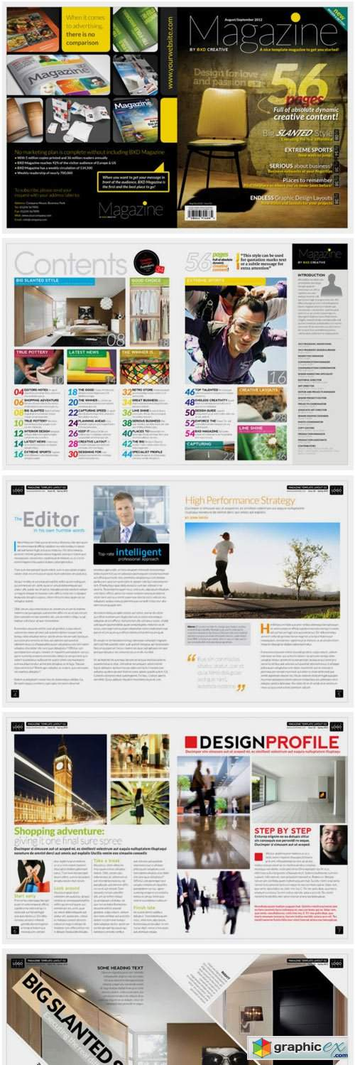 Magazine Template InDesign 1663131