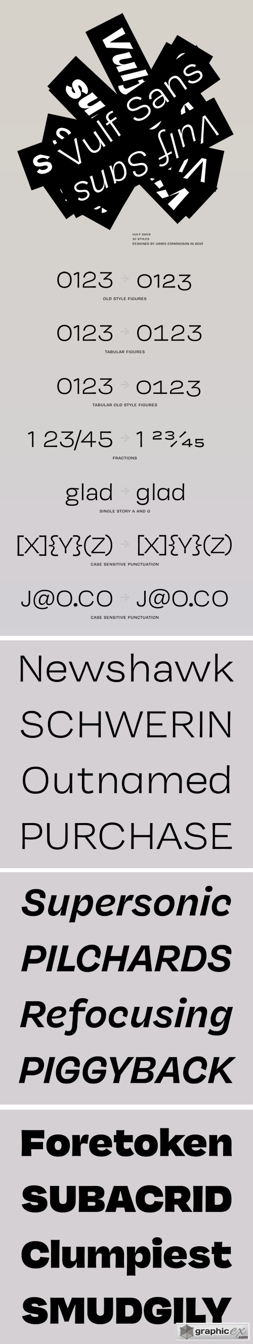 Vulf Sans Font Family