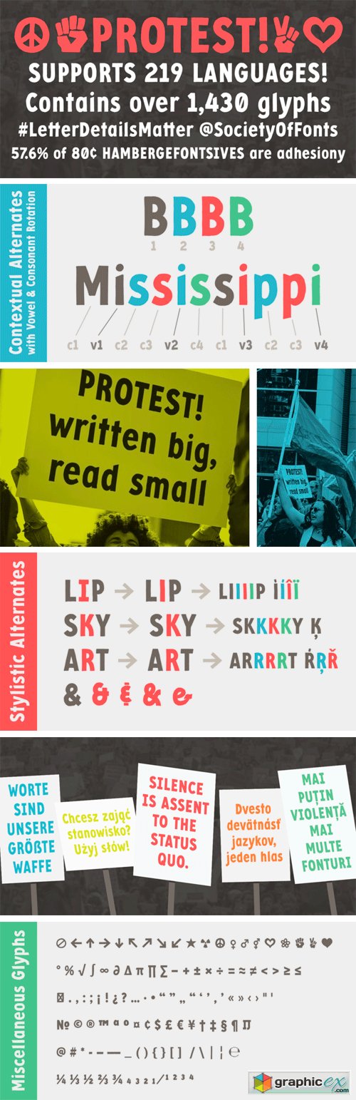 Protest Font
