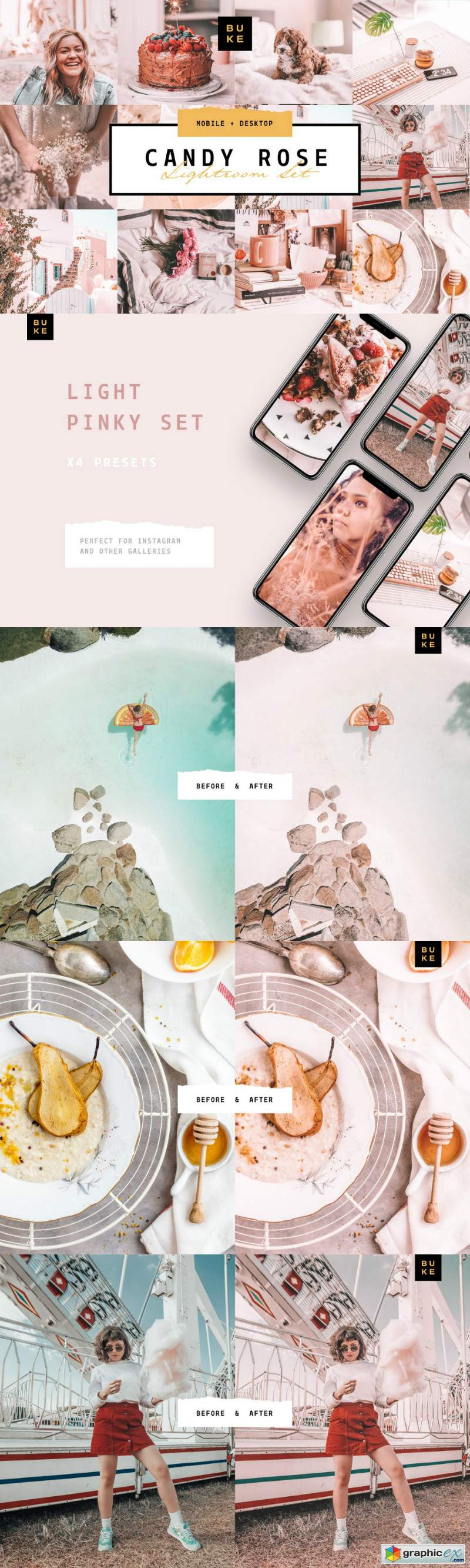 Candy Rose Lightroom Presets Bundle