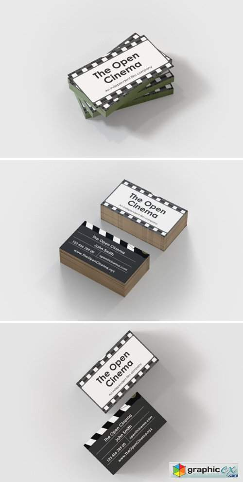 Cinema/Video Business Card Template