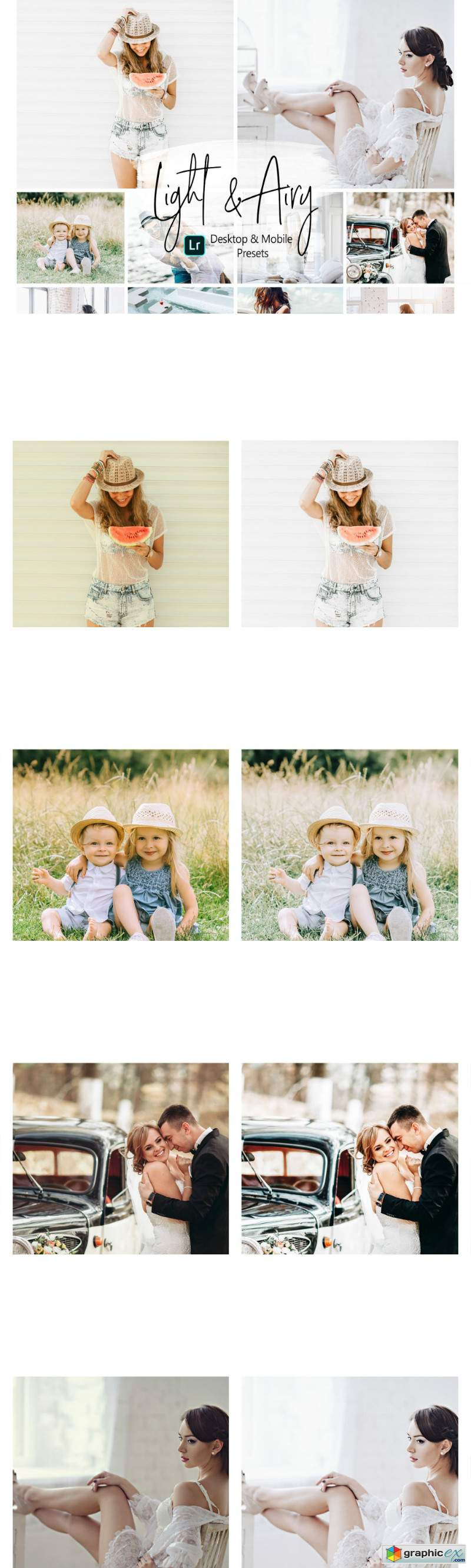 Light and Airy Lightroom Presets » Free Download Vector