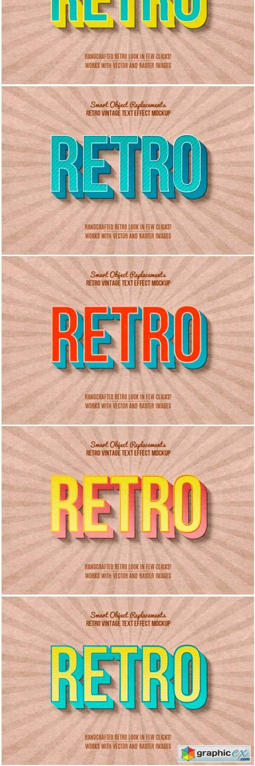 Retro Vintage Photoshop Style
