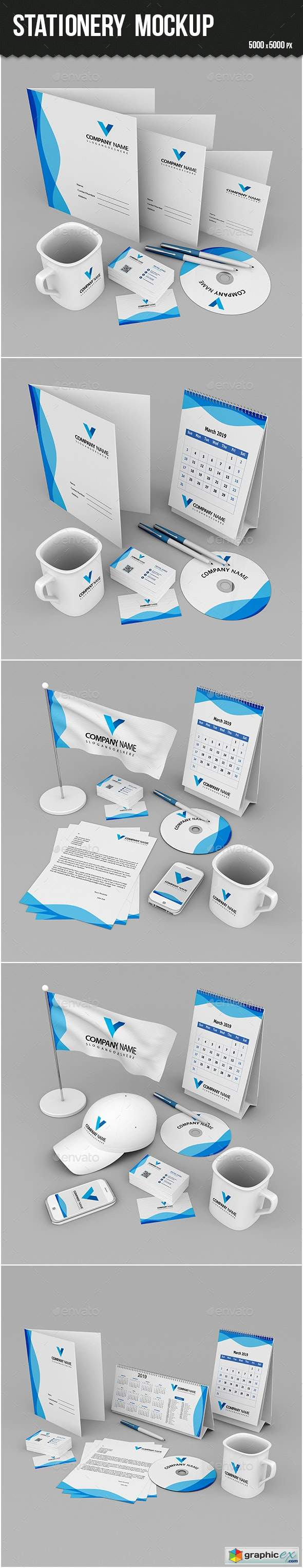 Stationery Branding Mock-up 24262252
