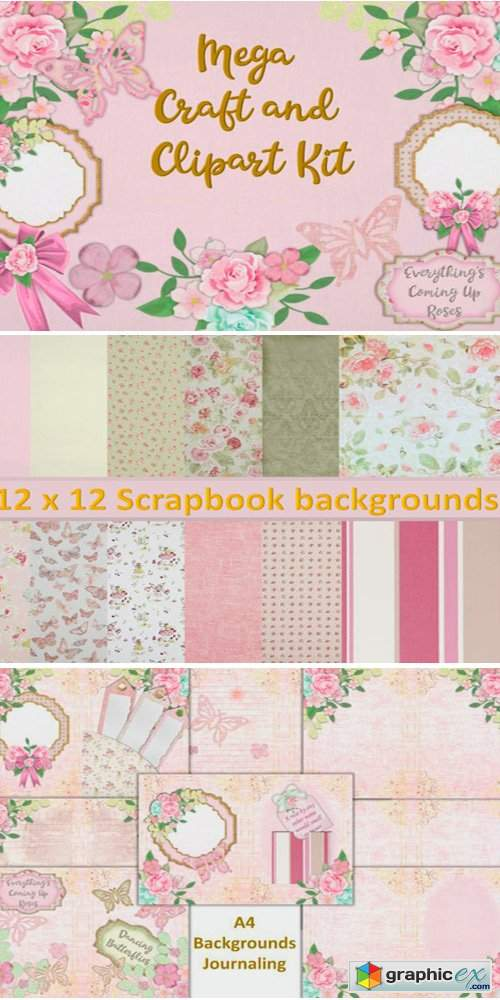 Raspberry Sorbet Mega Craft Bundle
