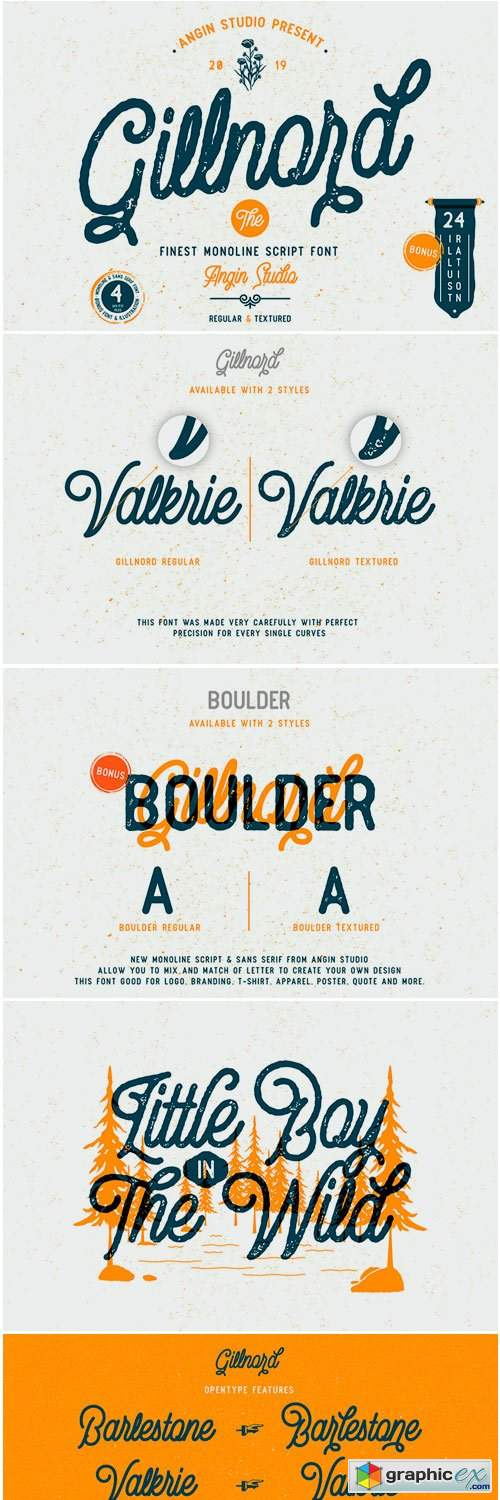Gillnord Font