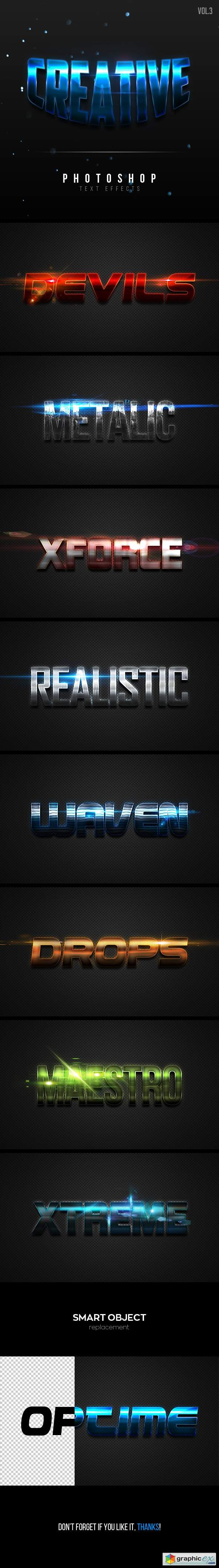 Creative Text Effects Vol.3