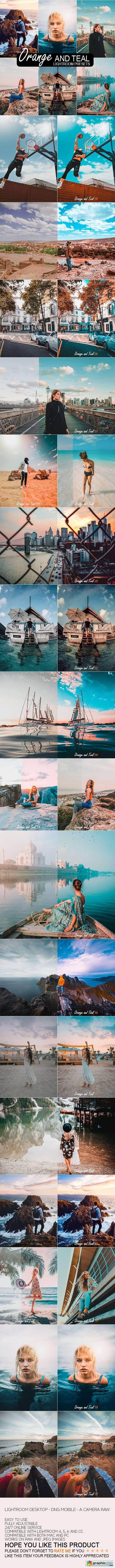 20 Orange & Teal Lightroom Preset