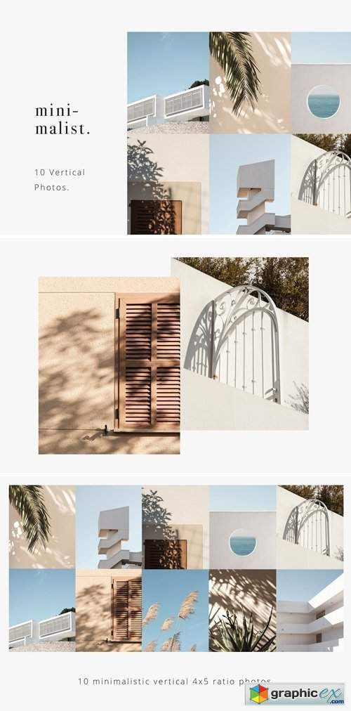 Minimalistic Photos Pack Vol.1