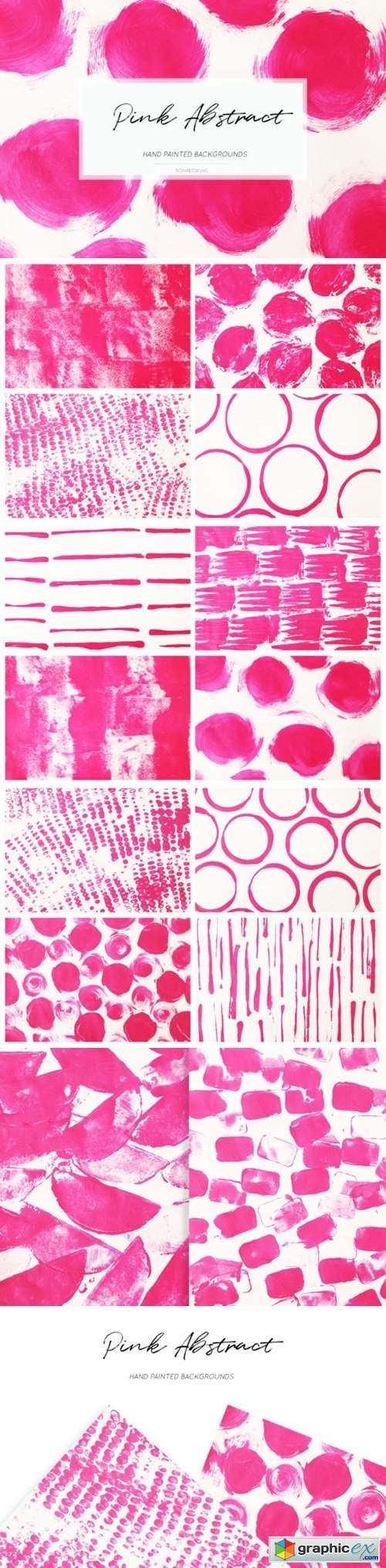 Pink Abstract Backgrounds