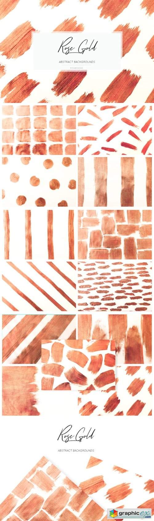 Rose Gold Abstract Backgrounds