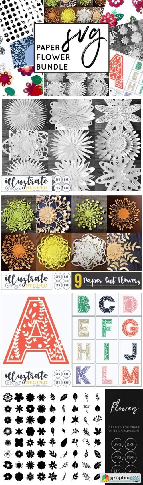 Paper Cutting Flowers