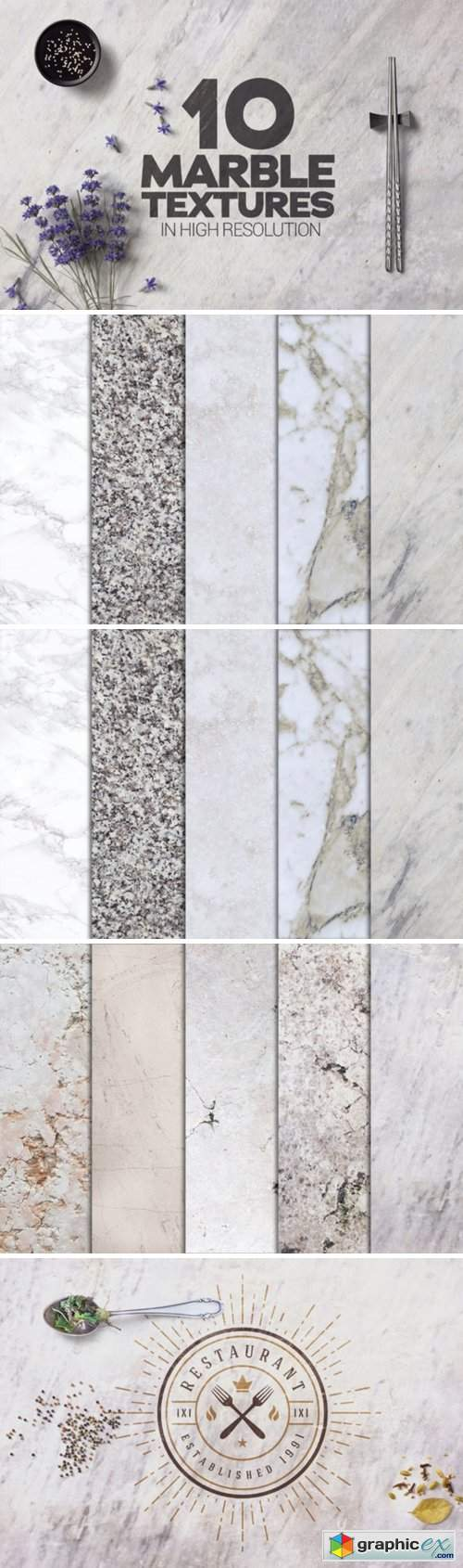 Marble Textures X10