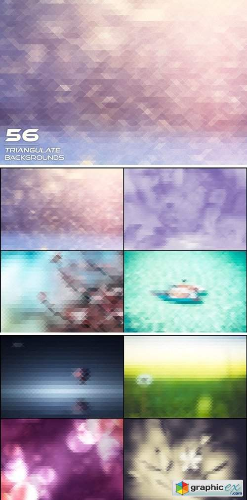 56 Triangulate Backgrounds