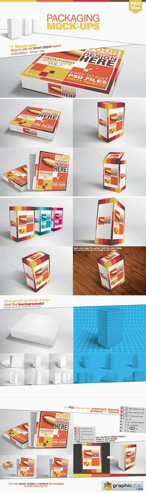Packaging Mock-ups 27566