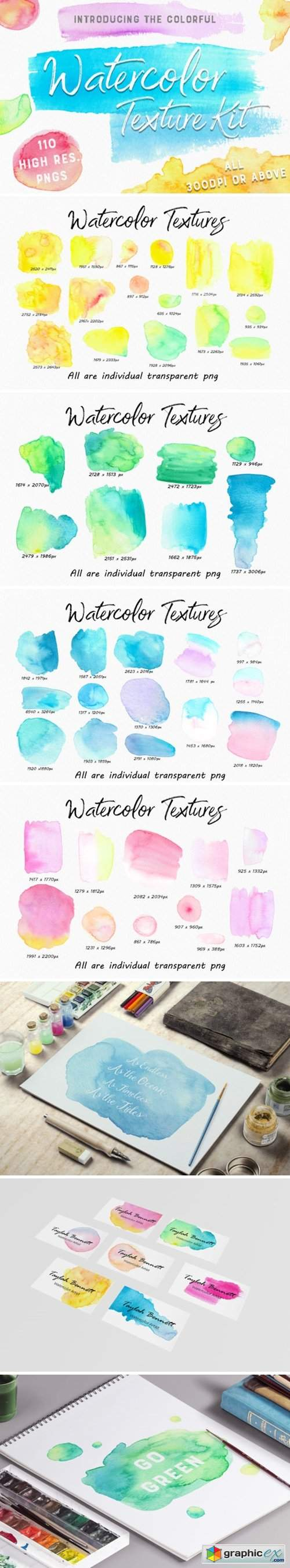 The Colourful Watercolour Kit
