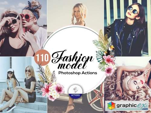 100 Fashion Model Photoshop Actions