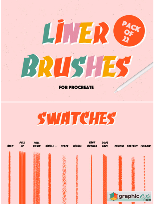 Brushes And Gradient » Free Download Vector Stock Image
