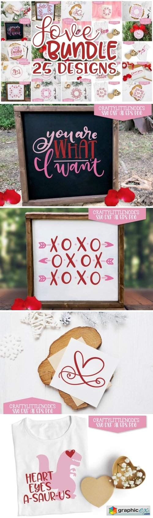 Valentines Day Design Set - Love Bundle