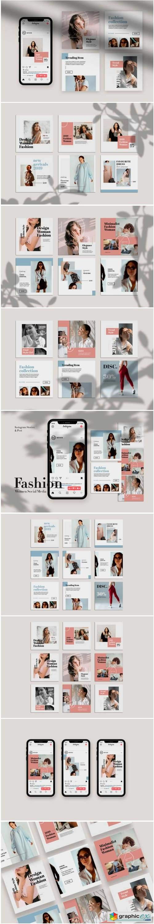 Fashion Instagram Templates 1766744