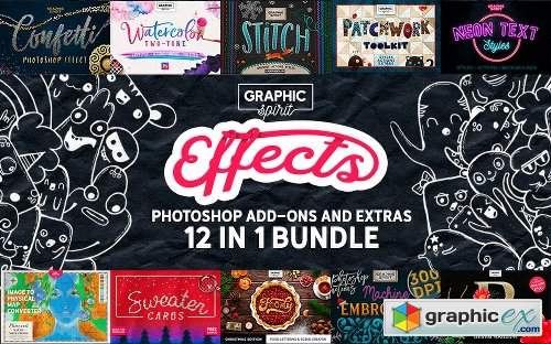 Inkydeals 12-In-1 Photoshop Add-Ons Bundle