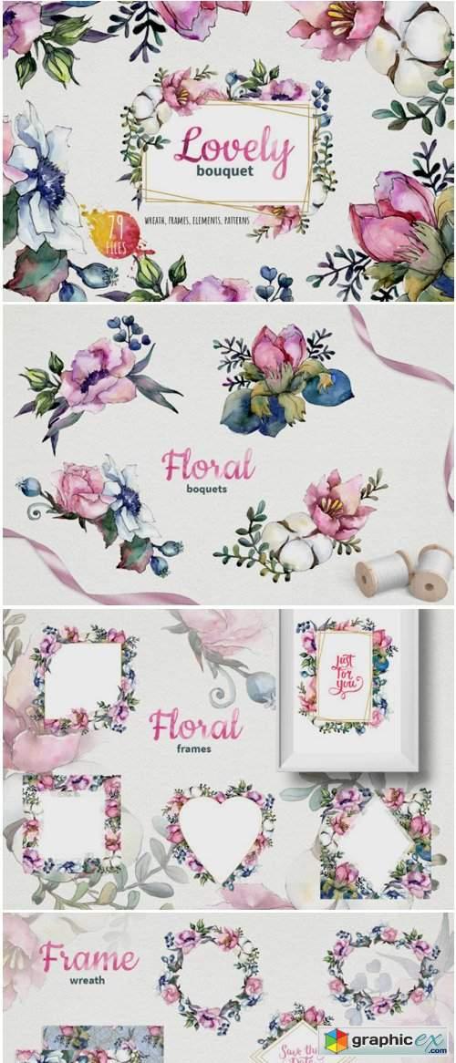 Bouquet of Pink Flowers of Kriya Angela