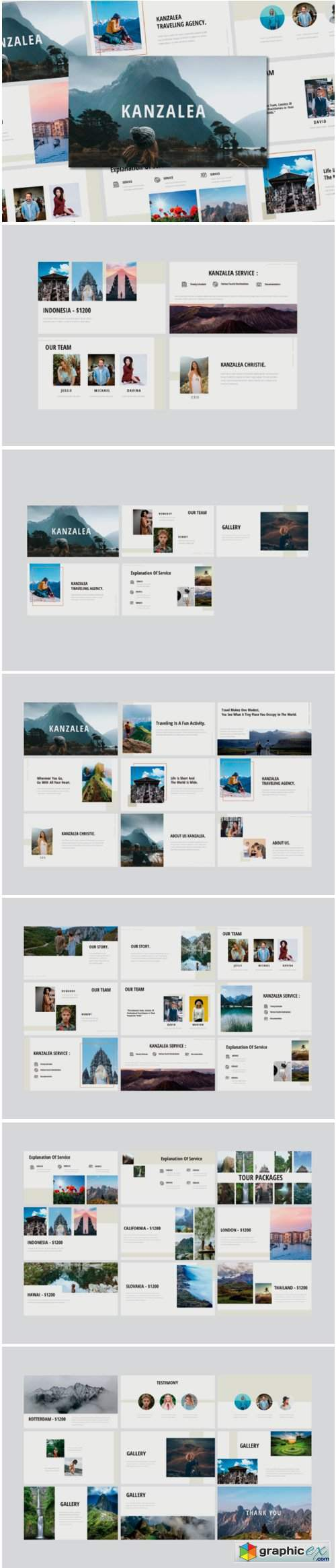 Kanzalea Powerpoint Presentation Template