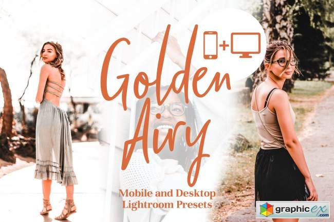 Golden Airy - Lightroom Presets