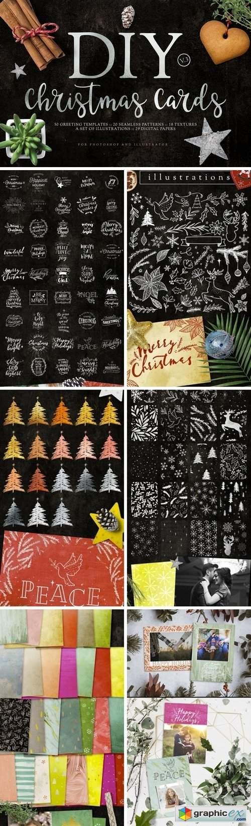 DIY Christmas Cards v3