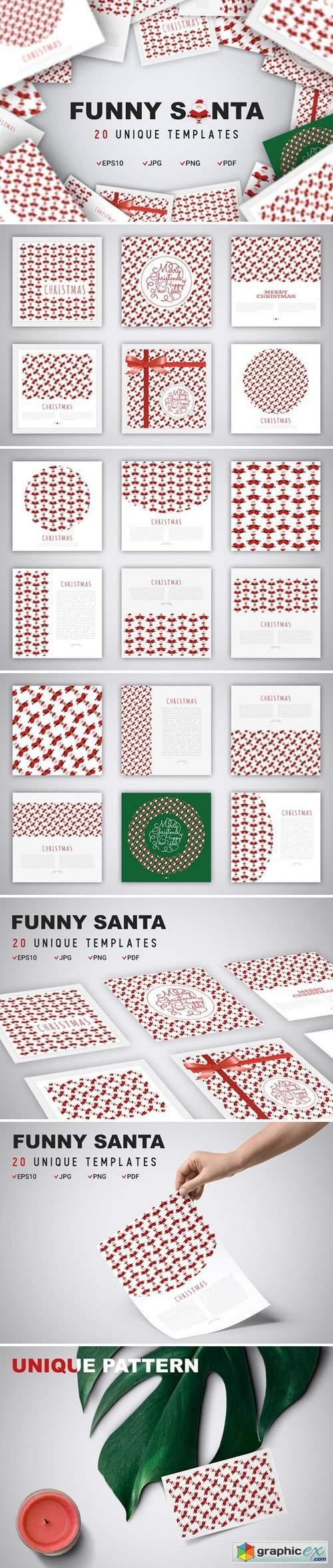 Funny Santa Concept