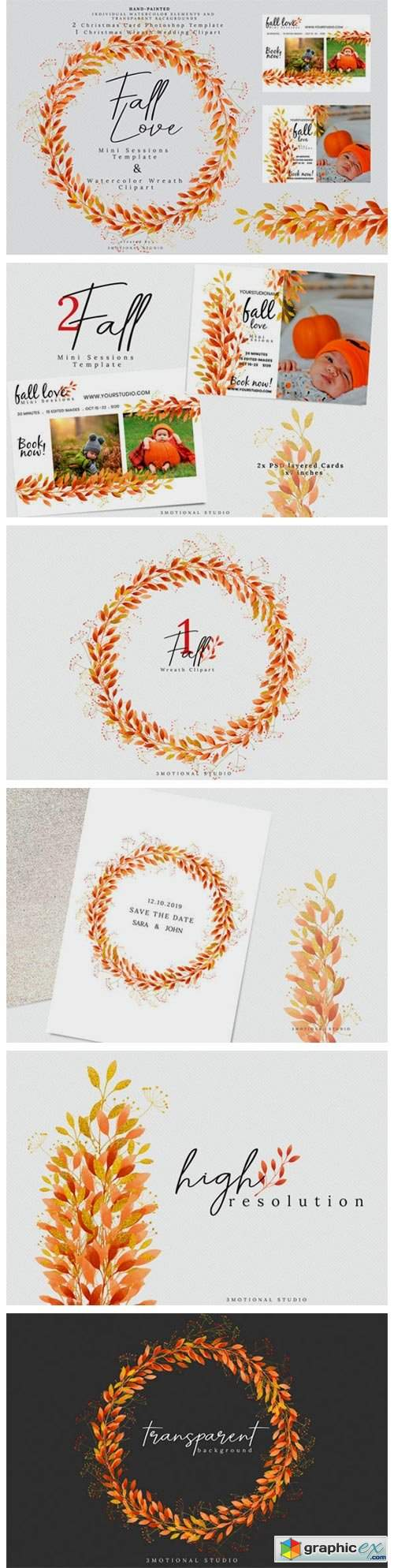 Fall Love Mini Sessions Template
