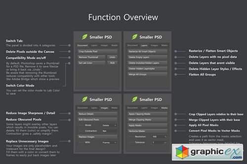 Smaller PSD - Filesize Reduce Kit