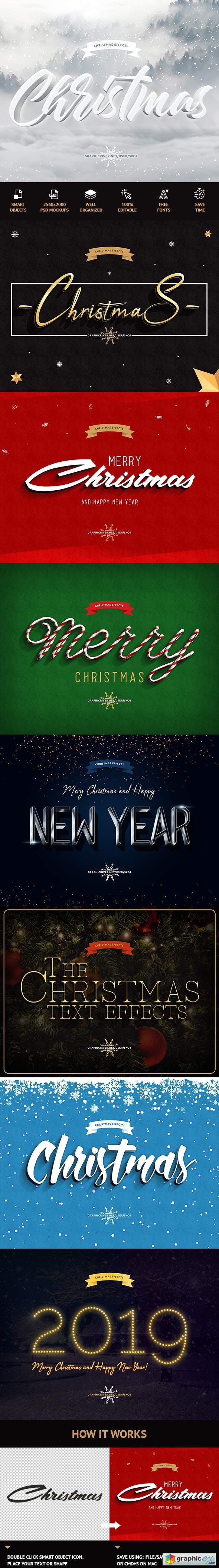Christmas Text Effects 22915802