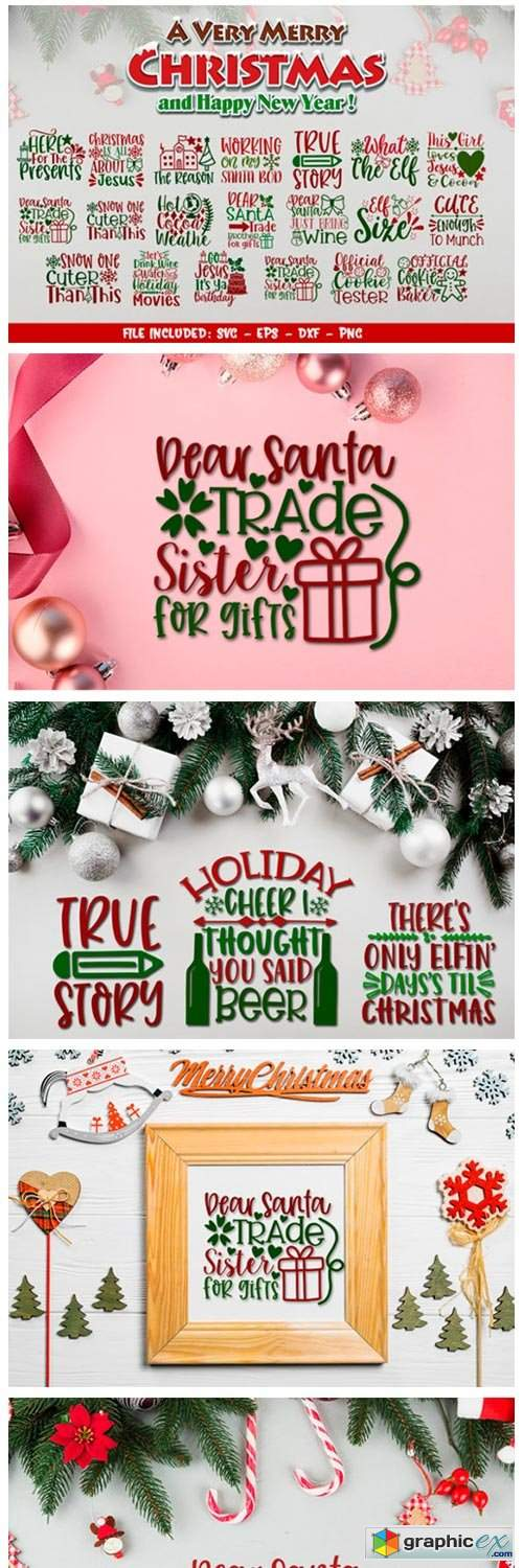 Christmas SVG Design Big Bundle Vol 2