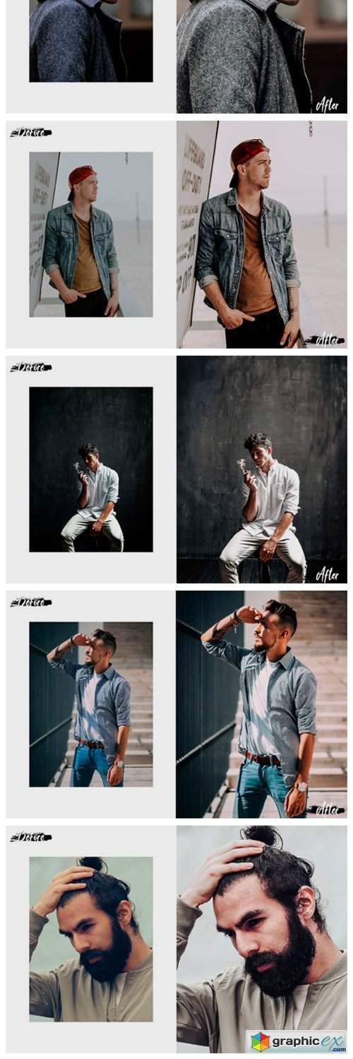 05 Gentleman Desktop Lightroom Presets