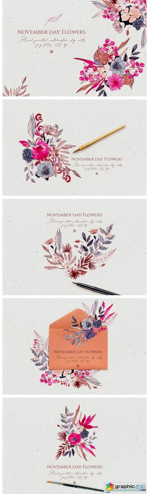 November Day Flowers